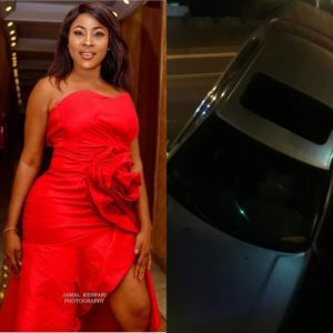 Actress Charity Nnaji Barely Escapes Death In A Terrifying Car Crash