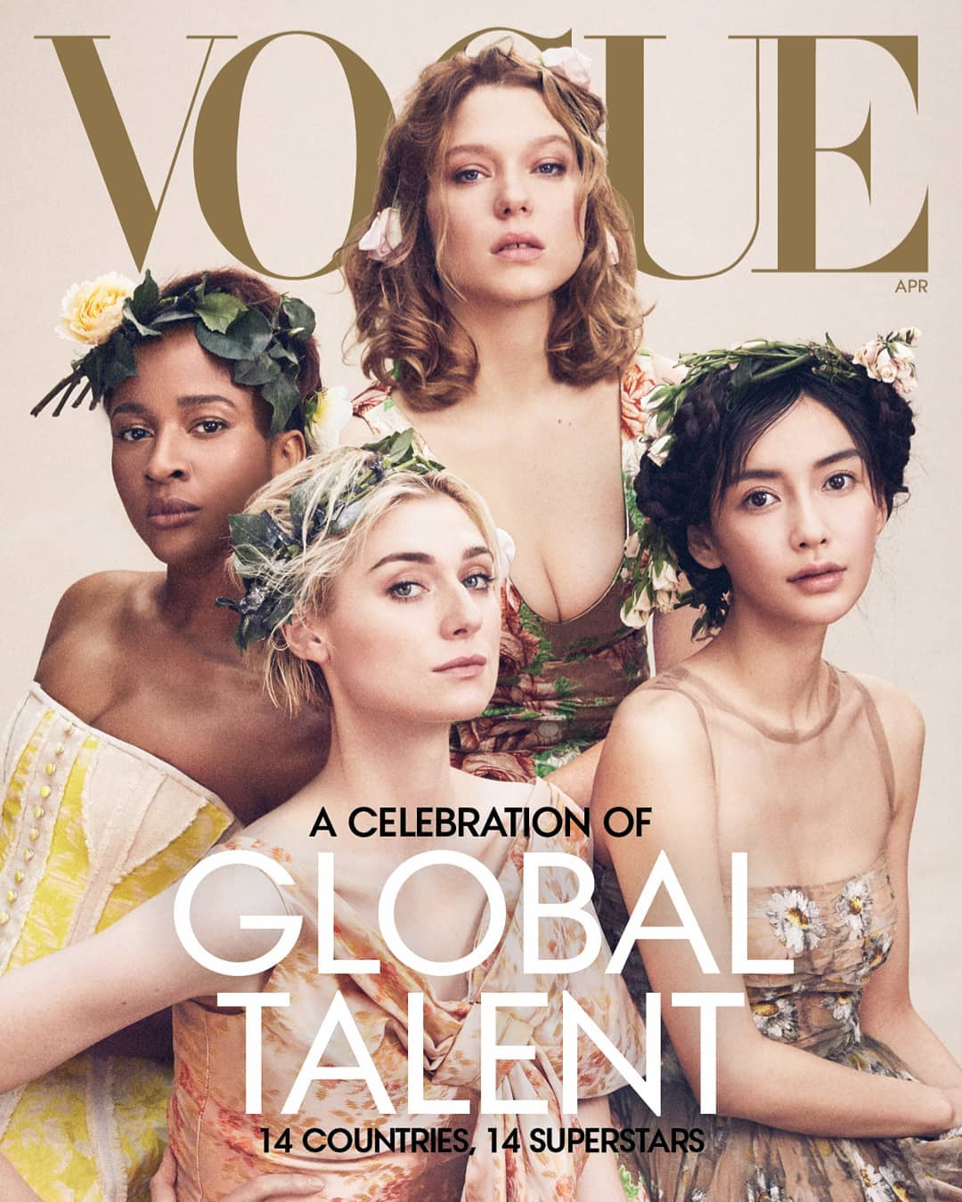 Nigeria To The World! Adesua Etomi On The Cover Of Vogue Magazine's Latest Issue