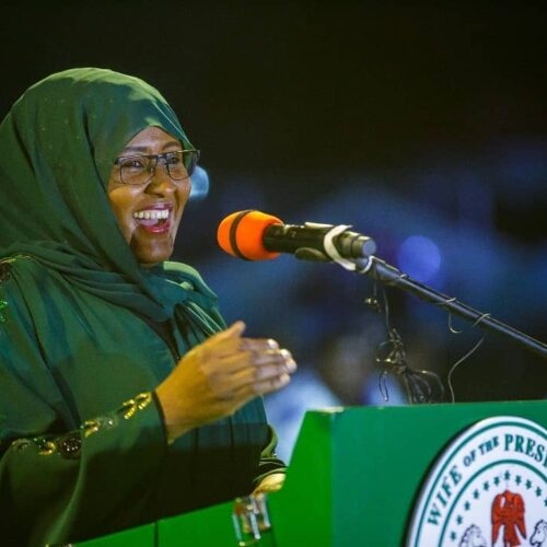 Aisha Buhari Breaks Her Silence To Wish Nigerians A Happy International Women's Day And To Speak About Schoolgirls Abduction