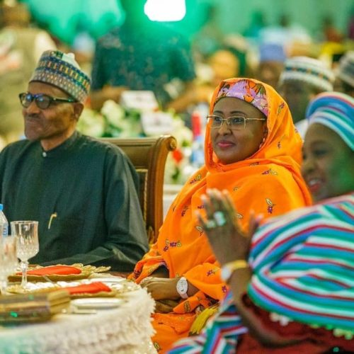 Shocking! First Lady, Aisha Buhari Reveals Why She Was Denied Access To Some Parts Of Aso Villa