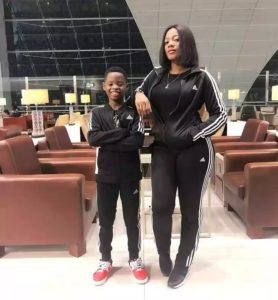 Must Watch: Basketmouth's Son And Wife Show Off Their Dance Skill