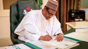 At Last! Buhari Signs N30,000 Minimum Wage Bill, See When Payment Will Commence