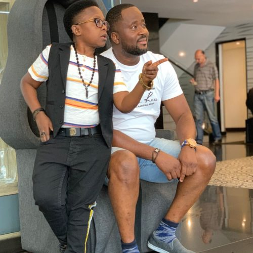 Desmond Elliot And Chinedu Ikedieze Spotted Together