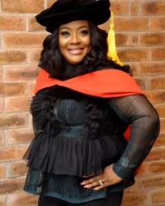 Helen Paul Is Proud Of Herself As She Becomes First Nigerian Stand-up Comedian To Have Ph.D