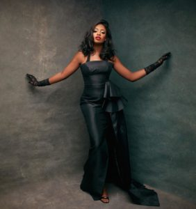 Kiki Osinbajo Stuns In Black Maxi Dress As She Celebrates 26th Birthday