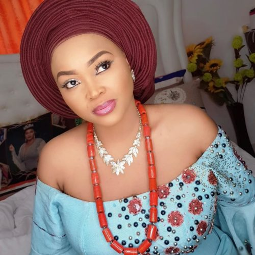 Mercy Aigbe Glows In New Makeup Photos