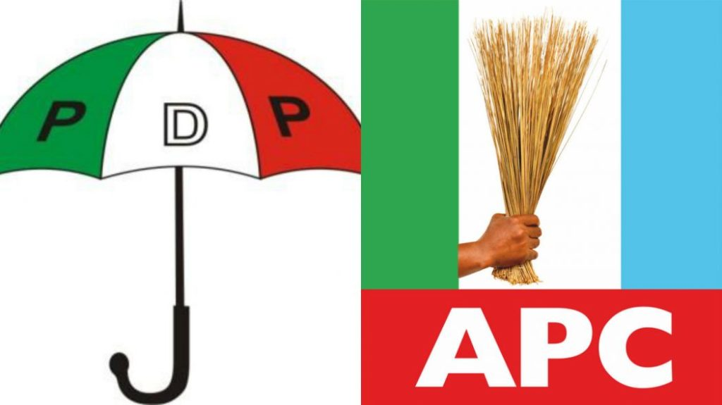 pdp and apc all naija trends