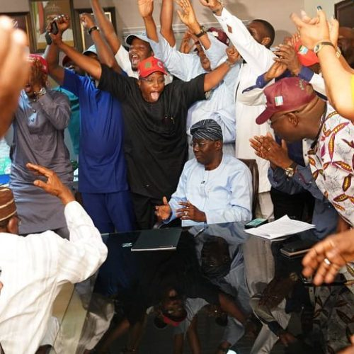 #LagosDecides2019: PDP Congratulates Babajide Sanwo-olu