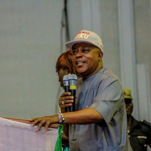 Secondus Urges Nigerians To Troop Out In Large Numbers For Saturday's Election