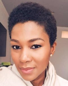 New Look! Stephanie Linus Rocks Low-cut Hair