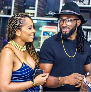 Uti Nwachukwu Responds To Report That Tboss Is Pregnant For Him