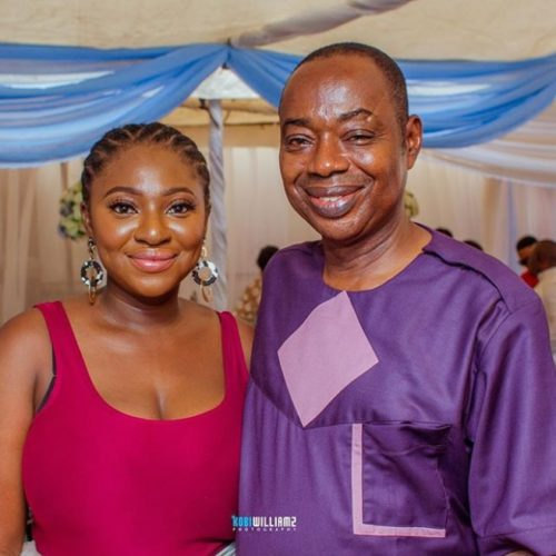 Yvonne Jegede Pours Encomium On Her Lookalike Father