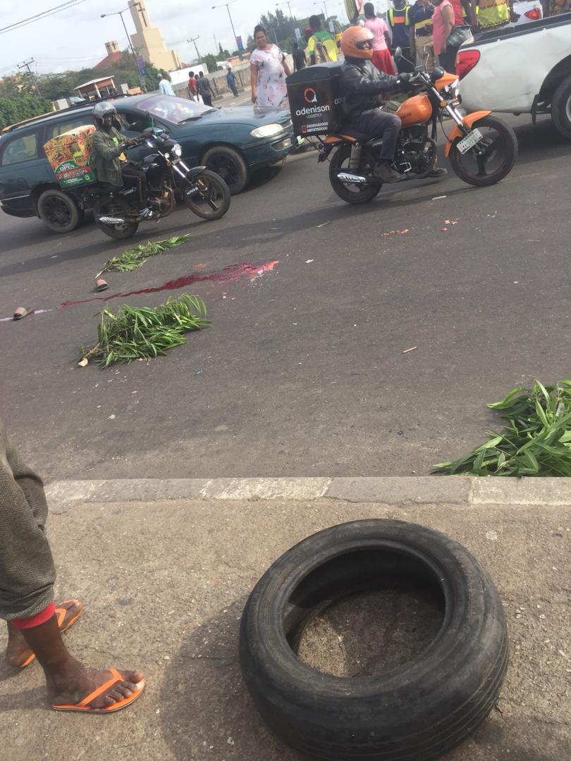 Tragedy In Lagos As Trailer Kills Motor Boy In Maryland