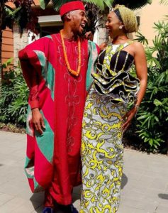 Beautiful Photos From Nollywood Actor, Akah Nnani's Traditional Wedding Party