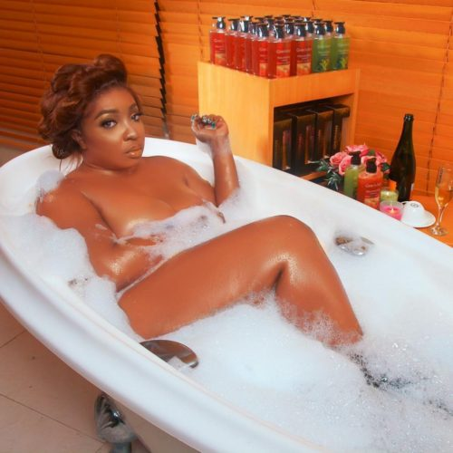 Anita Joseph Flaunts Her Glowing Skin In New Bathtub Photos