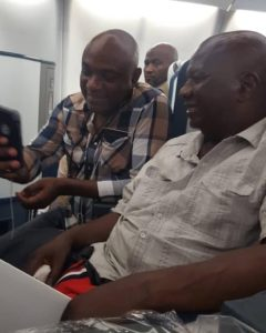 Baba Suwe In Nigeria! Baba Suwe Finally Arrives Nigeria After Medical Trip To US