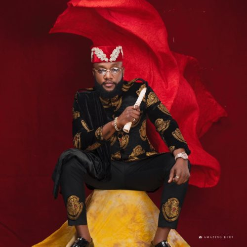 Kcee Celebrates 40th Birthday With Igbo Themed Photos