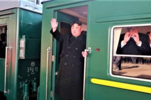 Checkout The Armored Train North Korean Leader, Kim Jong-Un Used To Travel To Russia