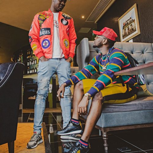 Kizz Daniel Shares Adorable Photo With His Brother