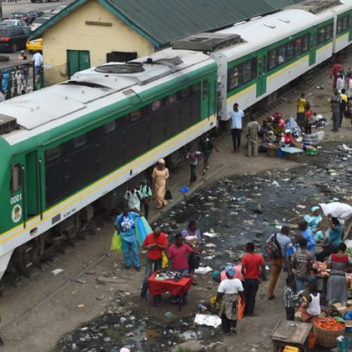 Train Crushes Beggar To Death In Mushin, Lagos