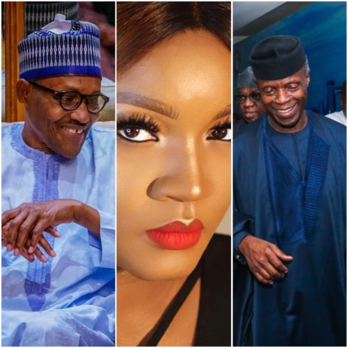 The Country Under Your Watch Is Hellish – Omotola Tells Buhari And Osinbajo