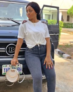 Regina Daniels Buys New Mercedes Benz G Wagon