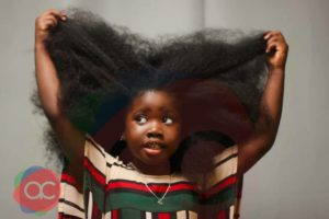 Meet Tolani, 4-year-old Nigerian Girl With Beautiful Long Natural Hair