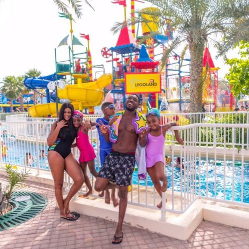 Timi Dakolo And Family Rock Swimwear In New Vacation Photos