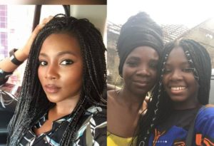 Genevieve Nnaji's Elder Sister And Niece In Pictures