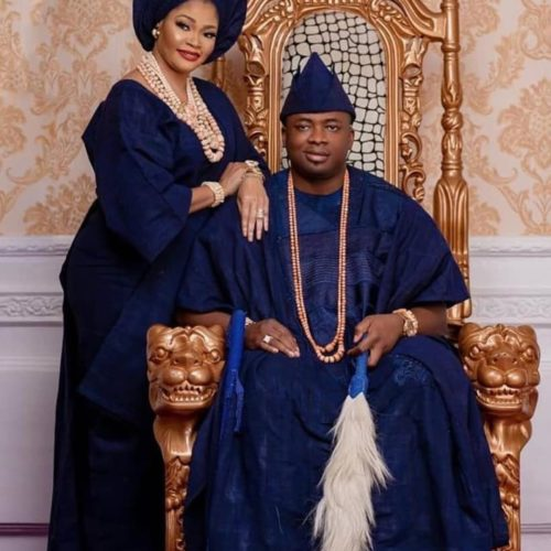 Happy 16th Wedding Anniversary To King Ademola Elegushi And His Wife