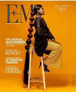 Alex Oozes Respect On The Cover Of Exquisite Magazine's Latest Issue
