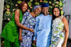 Family Goals!  Adorable Photos Of Vice President Yemi Osinbajo And His Family