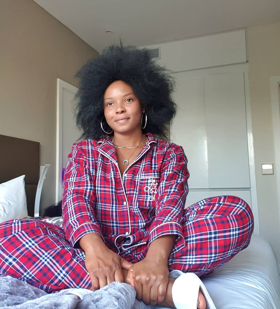 Yemi Alade Oozes Beauty In No Makeup Photo