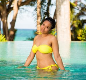Confidence Is Beauty! Singer Flavour's Baby Mama, Anna Banner Shows Off Her Stretch Marks