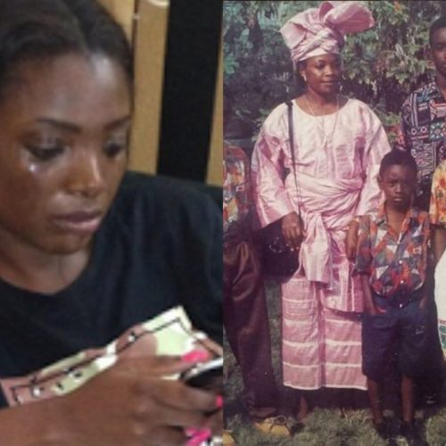 Annie Idibia Is Sad As She Loses Her Father To Cancer