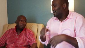 Yomi Fabiyi Visits Baba Suwe In America