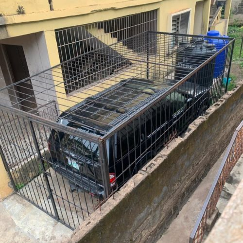 Could This Be Based On Experience? Jeep Gets Caged In Ogun State