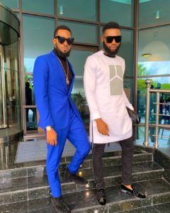 Fashion Goals! D'banj And Swanky Jerry Rock Black Sunglasses