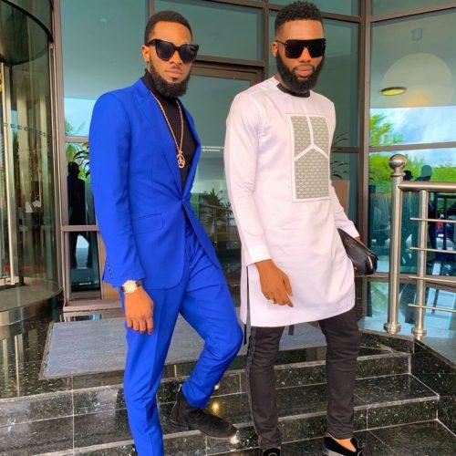 Fashion Goals! D'banj And Swanky Jerry Rock Black Sunglasses