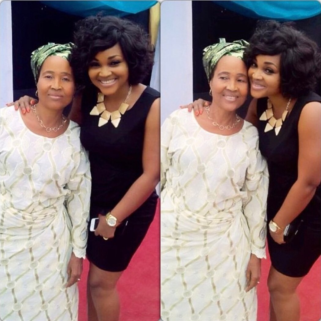 Like Mother Like Daughter! Meet Nollywood Actress, Mercy Aigbe's Mother