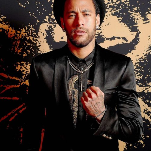 Neymar Steps Out In Style For Launch Of His New Fragrance In Paris