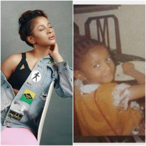 Adesua Etomi Reveals Her Nickname As She Shares Throwback Photo
