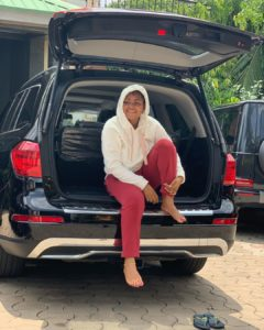 I Would Probably Own A Garage Soon – Regina Daniels Hints As Her Hubby Buys Her New Car