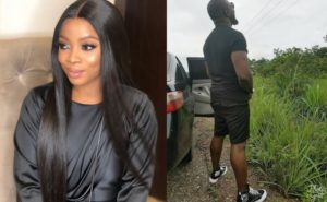 You Won't Believe What Toke Makinwa Said To The Man She Saw Peeing By The Side Of The Road