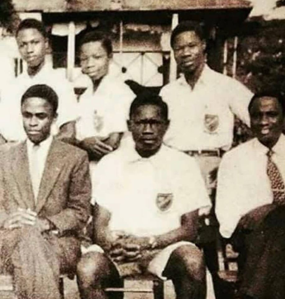Throwback Picture Of MKO Abiola And Obasanjo In Secondary School