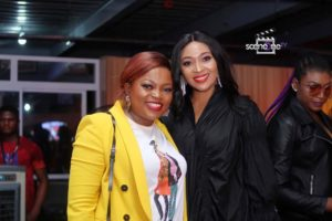 "Nollywood Celebrities Storm The Premiere Of Funke Akindele's Latest Series, ""Aiyetoro Town"""