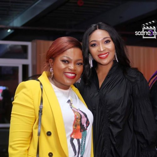 """Nollywood Celebrities Storm The Premiere Of Funke Akindele's Latest Series, """"Aiyetoro Town"""""""