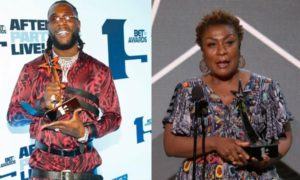 I Went To Get A Drink, That Was Why My Mum Collected My BET Award – Burna Boy