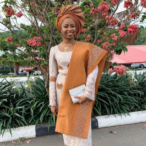 Aso Ebi Style: Osinbajo's Daughter, Dami Looks Splendid In Yoruba Attire