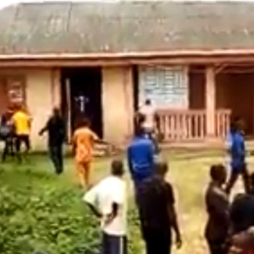 Wonders Shall Never End! Woman Kills Her Husband, Set His Body Ablaze (Video)